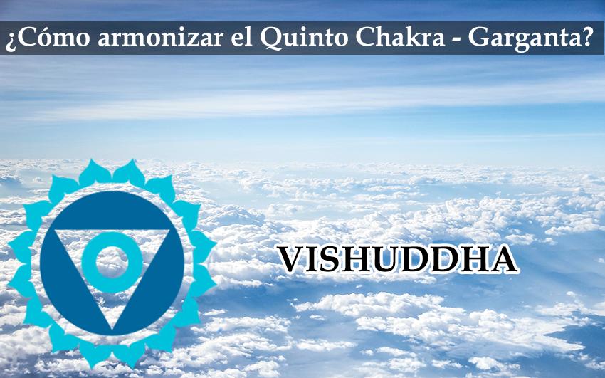 Cómo Armonizar Nuestro Quinto Chakra(Garganta): Vishuddha